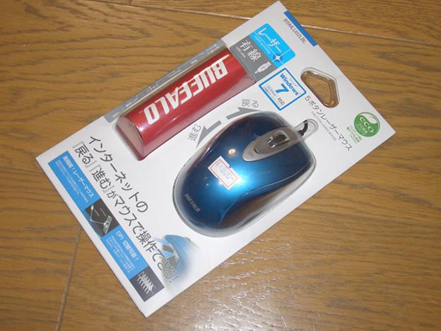レーザー式マウス
